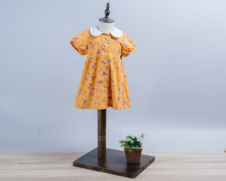 圓領洋裝(短袖)-訂製