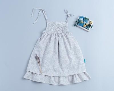 魚尾吊帶裙-訂製 花31