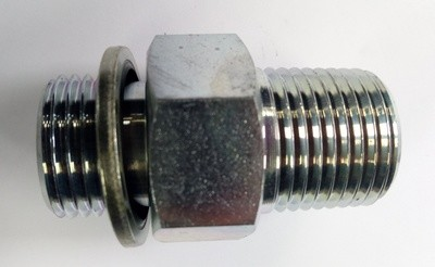 HYDRAULIC NIPPLES BSPT /BSPP VARIOUS SIZES 1/8