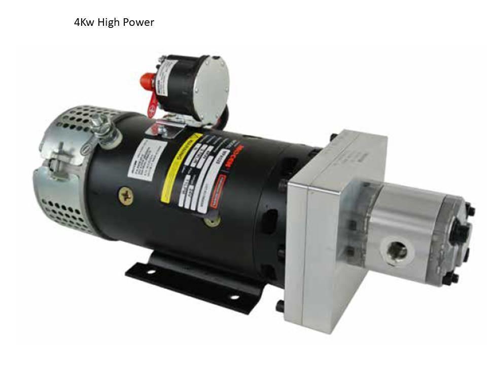 PTO ALTERNATIVE ! 24 Volt 4 KW DC POWER UNIT