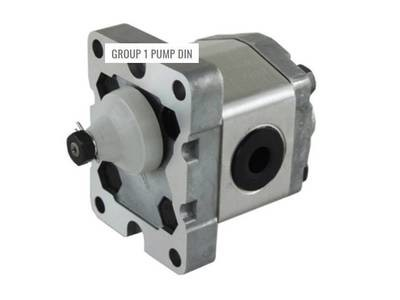 HYDRAULIC GEAR PUMP  GROUP 1 DIN MOUNT VARIOUS CC's