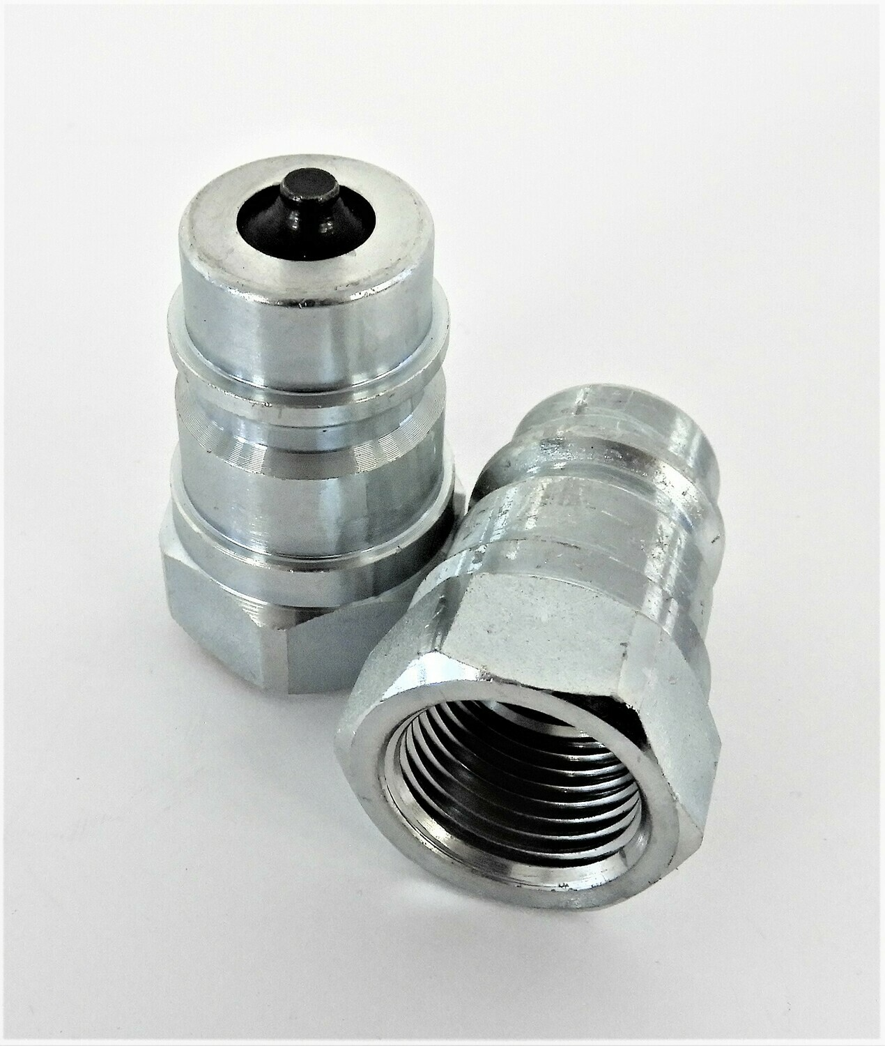 Hydraulic Coupling Poppet MALE ONLY  side ISO 7241-1 Series A 4400 PSI 1/4