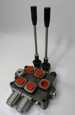 GALTECH Q75  ITALIAN Flow Control Valve  2-Spool 80 LPM