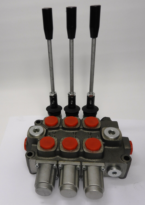 GALTECH Q75  ITALIAN Flow Control Valve  3-Spool 80 LPM