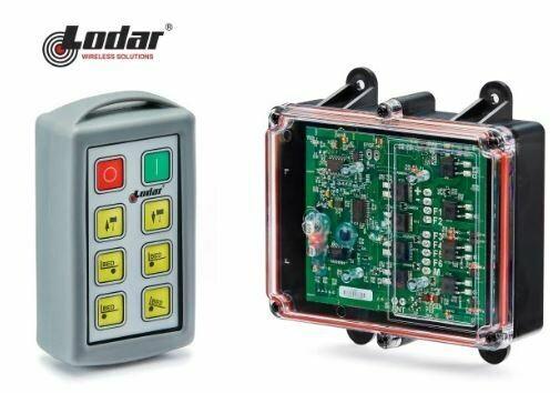 Lodar Radio Remote Control Kit 6 Functions Tilt Tray Ready