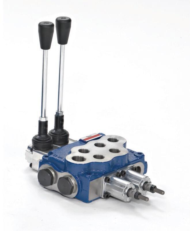 Hydraulic Flow Control Valve  2-Spool 80 Lt/Min