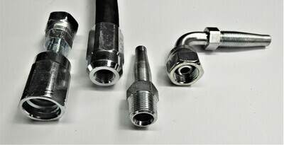 BSP Reusable Hydraulic Hose Fitting Male or Female