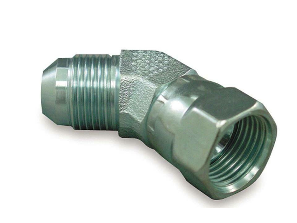 Hydraulic JIC  45° ELBOW ADAPTORS Male x Female