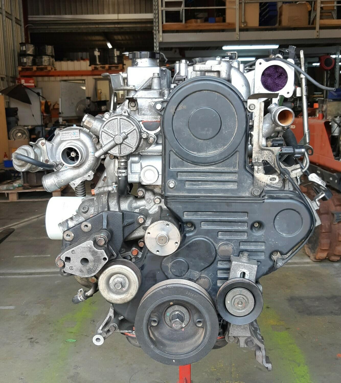 Mitsubishi Triton 4D56U 2.5 Lt 4 Cyl 16 V Turbo Engine