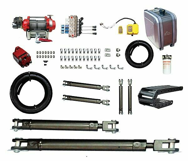 TILT TRAY TRUCK HYDRAULICS PACKAGE