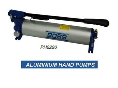 PORTA POWER HEAVY DUTY ALUMINIUM HAND PUMPS10,000PSI 700BAR One & Two stage pumps