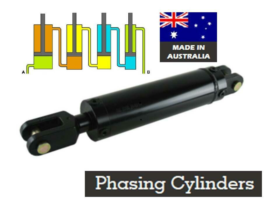 "PHASING CYLINDERS HYDRAULIC AUSTRALIAN MADE 16""  stroke"