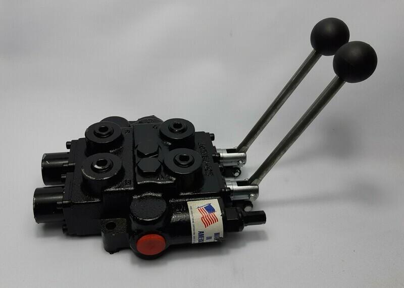 Prince RD5200 2 Spool Monoblock valve 100 Lt/m 3000psi