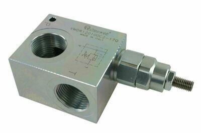 Hydraulic Inline Pressure Relief Valve 150-5000 Psi 3/8