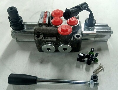 MICRO SWITCH Fitted Flow Control 1Spool Valve 45 Lt/Min RAMP LOADER