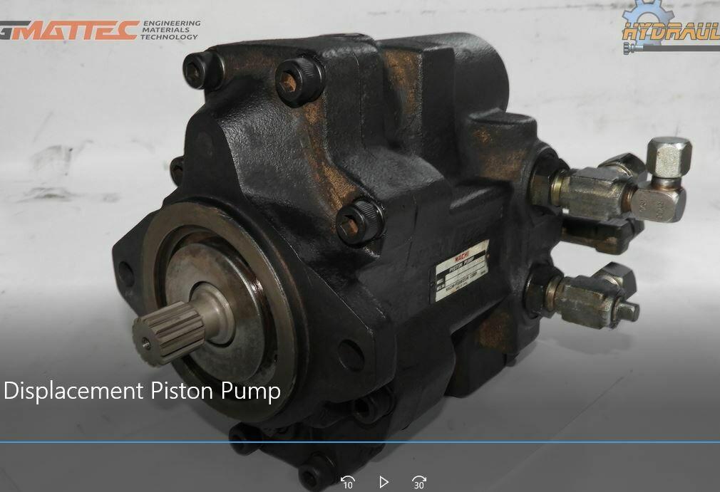 Nachi PVD Piston Pump Parts Hitachi EX 40 Excavator