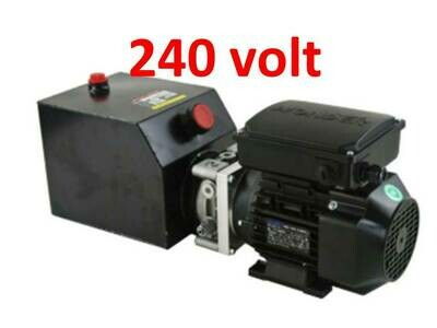 Hydraulic Power Pack 240V  6.0 L/min 2.2KW (3000 PSI) P&T Ports/Single acting/Double acting