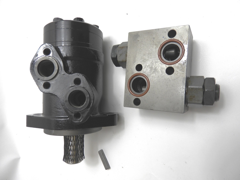 Orbital Motor BMR/BMSY Valves Crossline Relief or Counter Balance valve