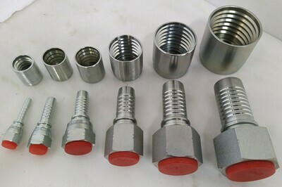 Hydraulic Hose Fittings JIC Female CRIMP ON 1/4
