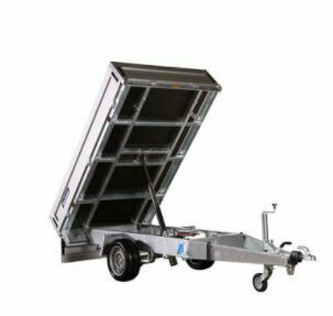 Tipper Trailer kit -Hydraulic Ram Cylinder and Power Pack - 1200mm - 5 tonne