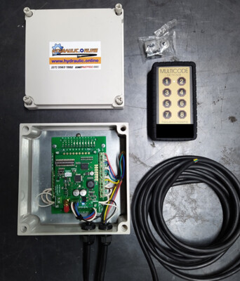 Multicode 8 Button Remote Control & Receiver, Tilt Tray Ready