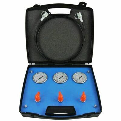 3 Gauge Pressure Test Kit 2300 -10,000Psi Includes 2m hose