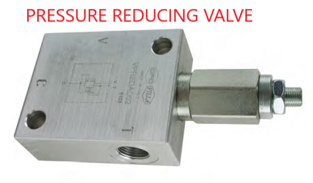 HYDRAULIC PRESSURE REDUCING VALVE