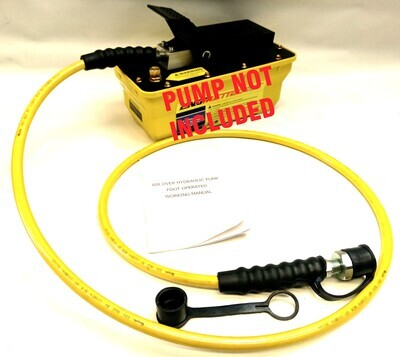 10,000 PSI Hydraulic Press Tool Hose with Couplers