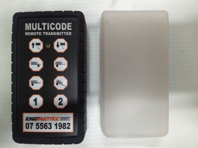 Multicode 8 Button Remote Control & Receiver, Suit Tilt Tray