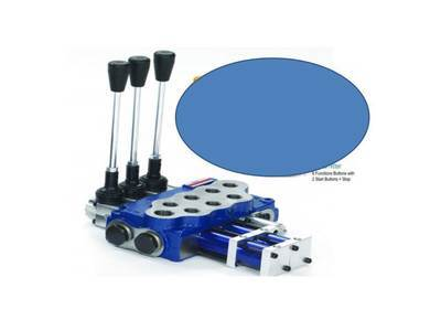 Hydraulic Flow Control Valve REMOTE CONTROL READY 3 Spool 80 L/pm