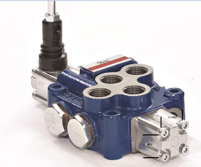 Hydraulic Flow Control'FLOAT' Function 1Spool Valve 3/8