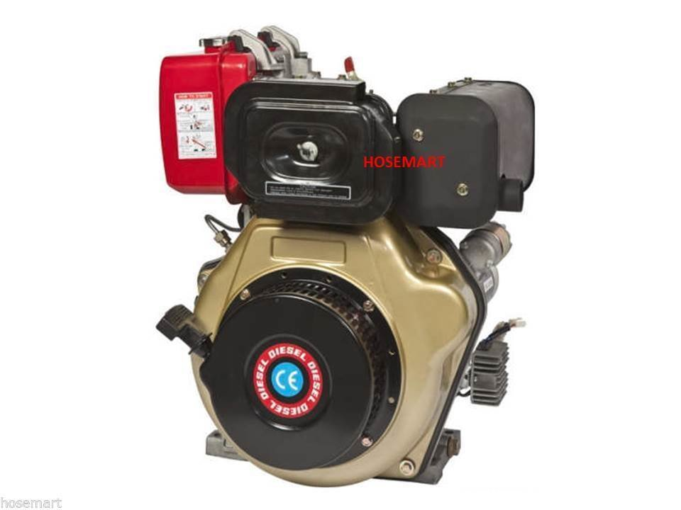 4.8 HP/10HP Diesel Logsplitter/Pressure Wash Engine 2 YEAR WARRANTY