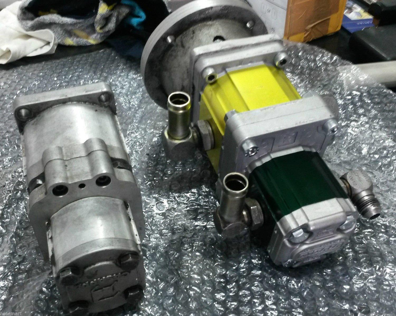 Italian Made Dingo 950P Hydraulic Tandem Gear Pump STRAIGHT SWAP OVER