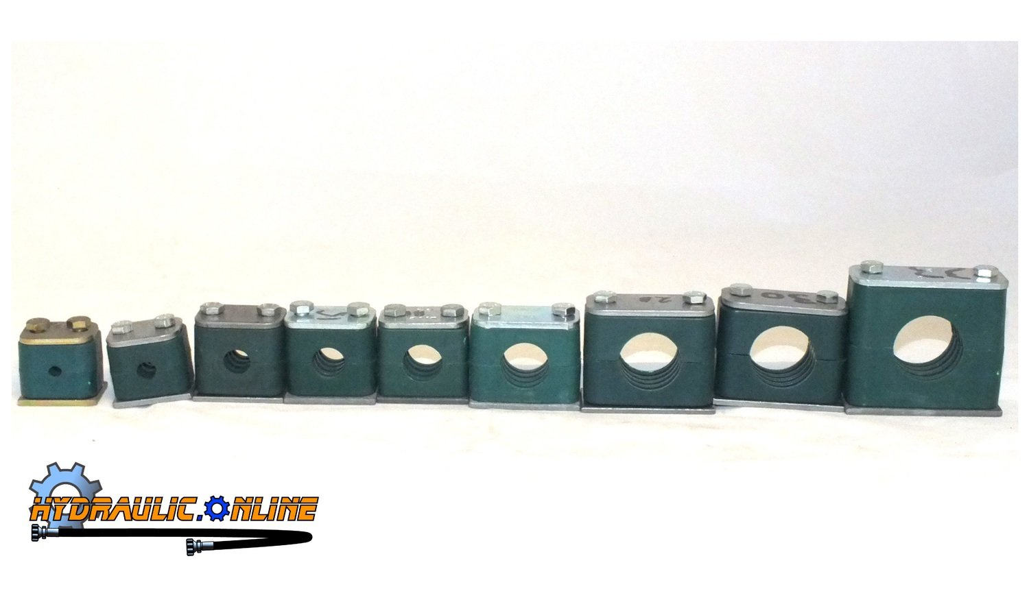 Stauff Single Clamp Various Sizes 8-38mm Industrial & Mobile Hydraulics