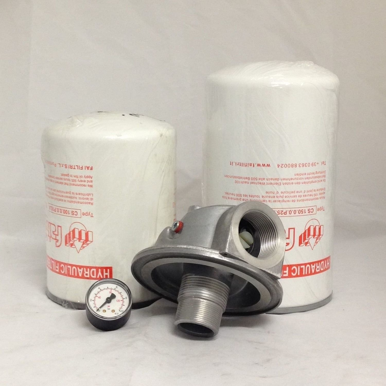 Hydraulic Oil Spin on  Return Filter Assembly 1-1/4