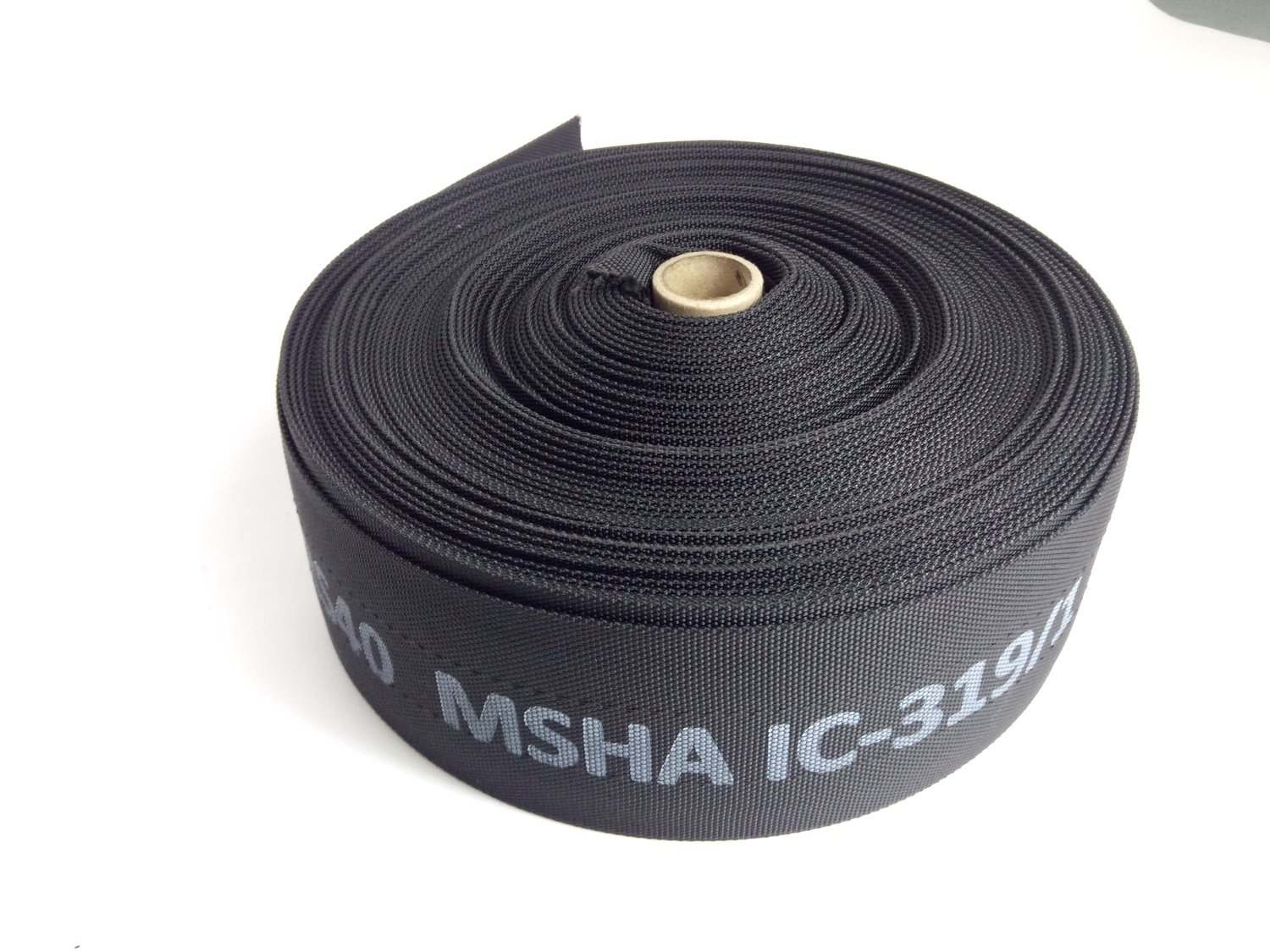 Hydraulic Hose Burst Sleeve MSHA Various Sizes 50 mt Rolls.
