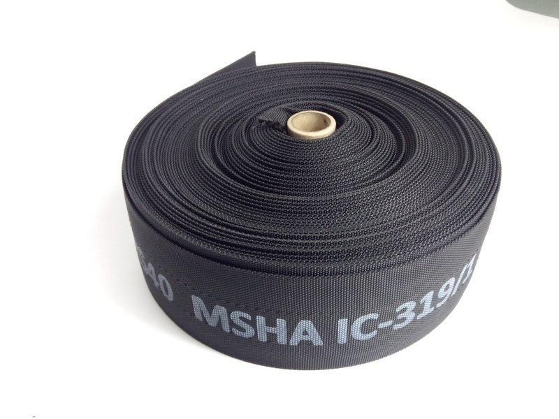 Hydraulic Hose Burst Sleeve MSHA Various Sizes 50 mt Rolls.