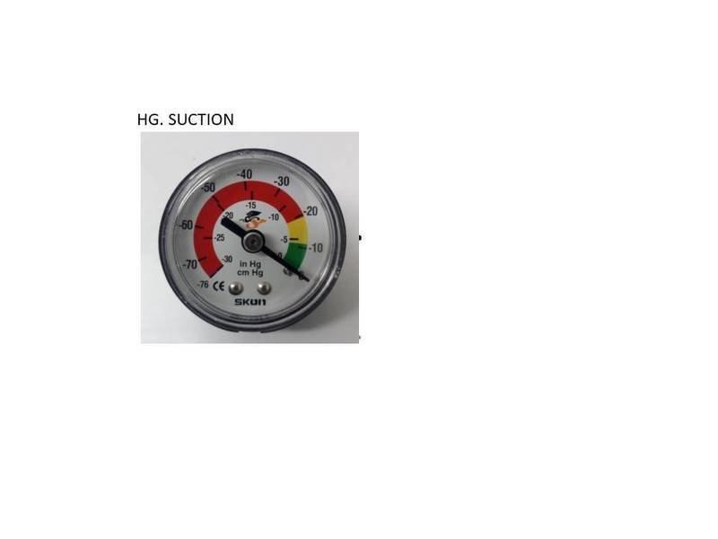 Clog / Suction Gauge 1/8
