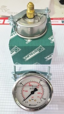 Precision Pressure Gauge 63 mm 2.5