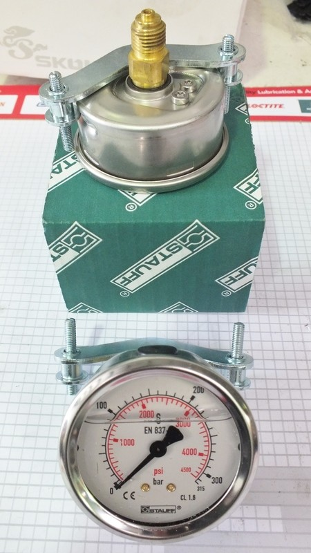 Precision Pressure Gauge 63 mm 2.5