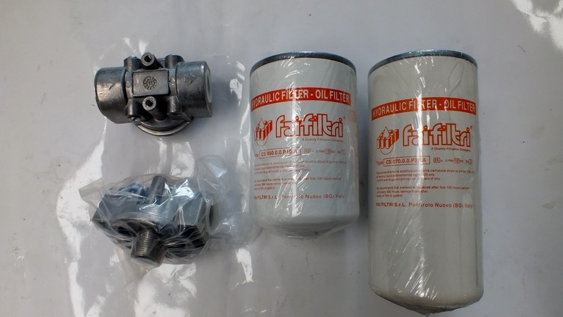 Hydraulic Oil Spin on 10 or 25 micron Return Filter 3/4