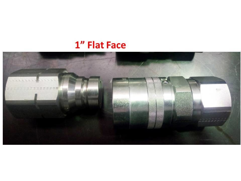 Flat Face Hydraulic Couplers 1