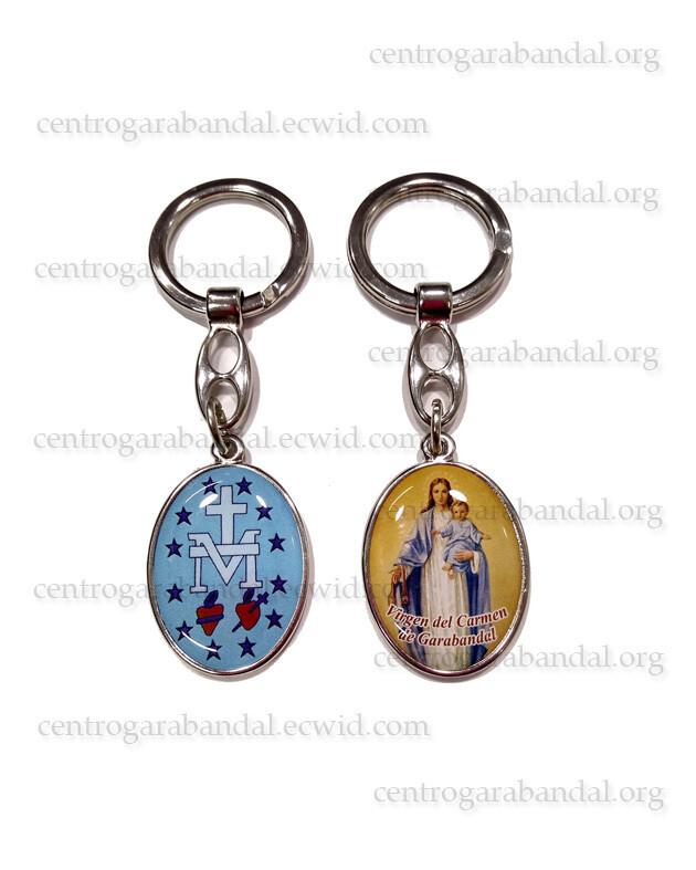 Llavero Jesús y María