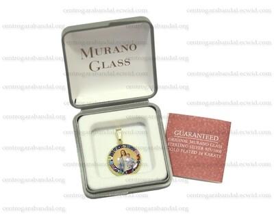 Medalla Cristal Murano