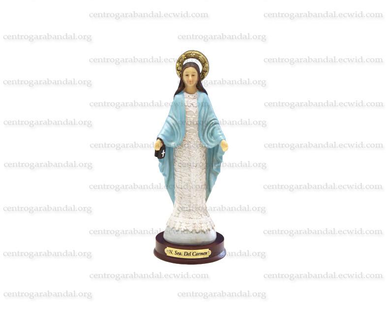 Imagen Virgen del Carmen de Garabandal (15cm)