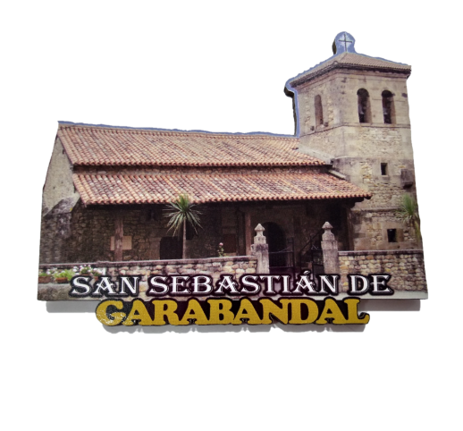 Imán Iglesia San Sebastián de Garabandal