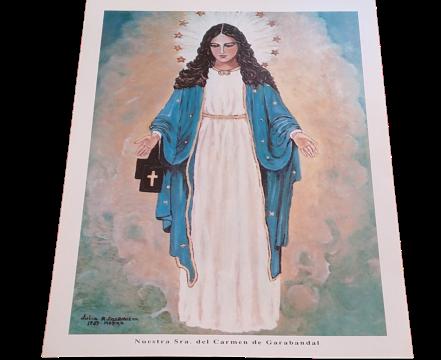 Lámina Virgen de Garabandal