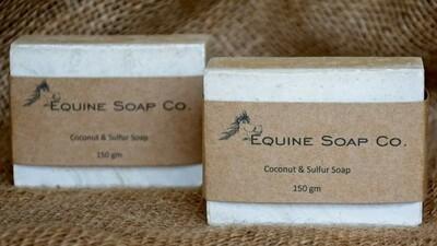 Equine Coconut & Sulphur Soap