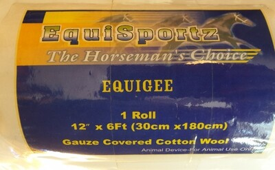 Gauze Covered Cotton Wool Roll