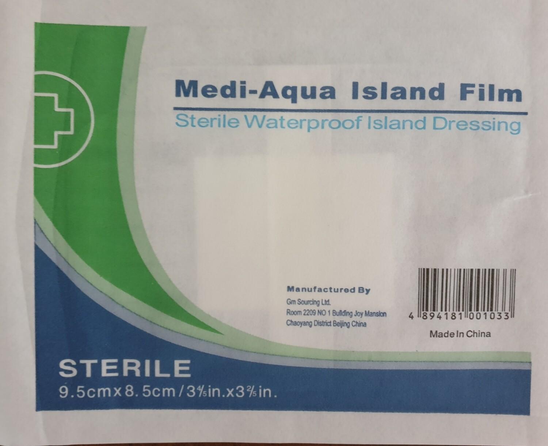 Medi-Aqua Island Flim Dressing 9.5cm x 8.5cm